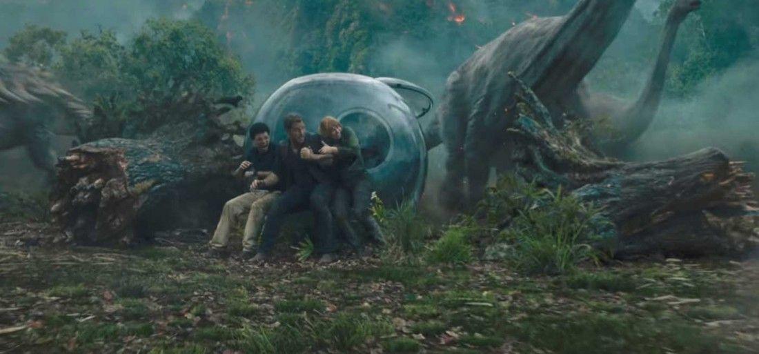 Jurassic Park : Fallen Kingdom – Trailer