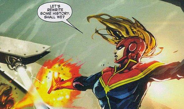 Capitã Marvel – os quadrinhos