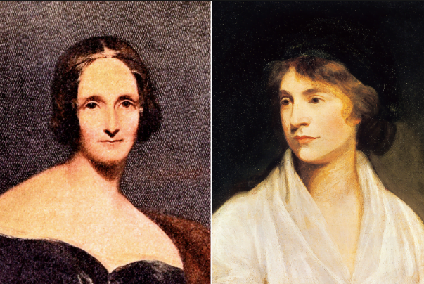 As vidas extraordinárias de Mary Wollstonecraft e sua filha Mary Shelley